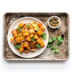 honey garlic roasted butternut squash   i am a food blog