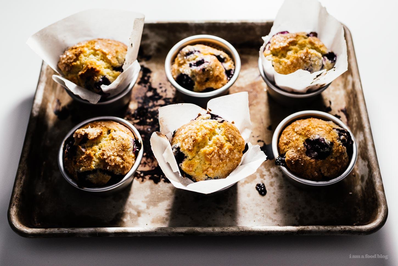 Jordan Marsh's Blueberry Muffins Recipe | www.iamafoodblog.com