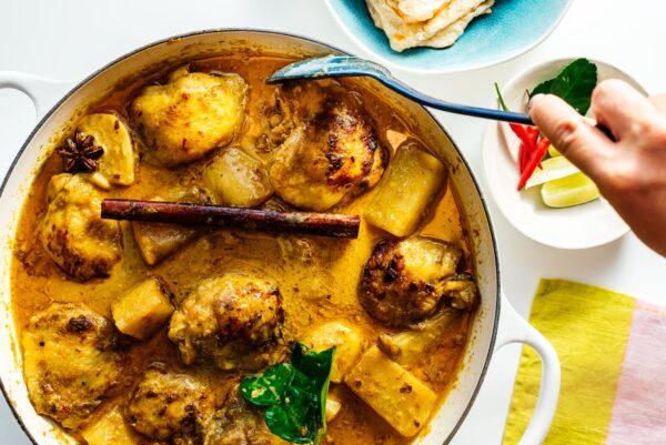 chicken curry | www.iamafoodblog.com