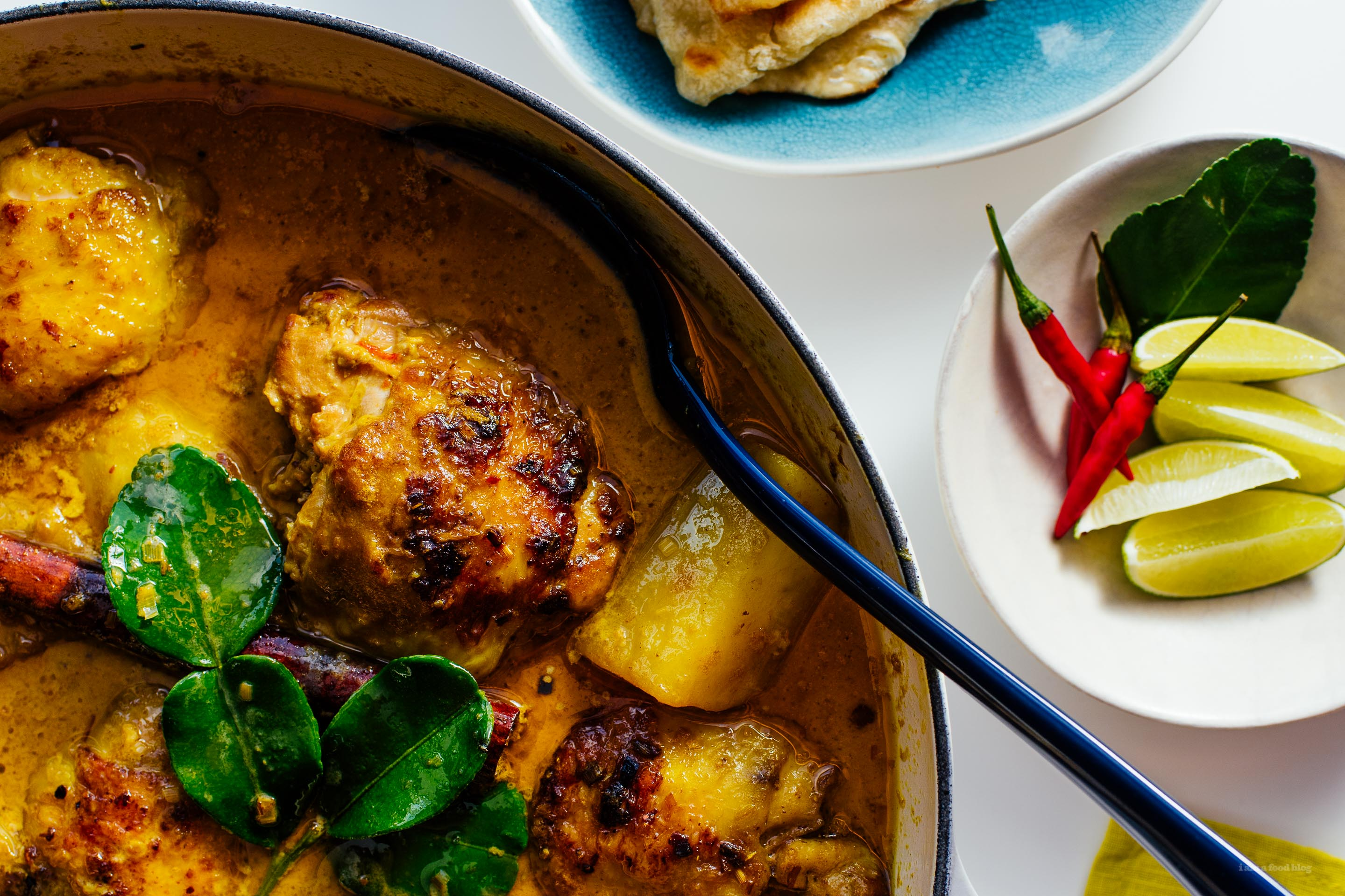 Kari ayam malaysian chicken curry recipe i am a food blog i am a were going through a cold snap and aside for venturing out for a couple of lunar new year celebrations mike and i have been snuggled up at home forumfinder Images