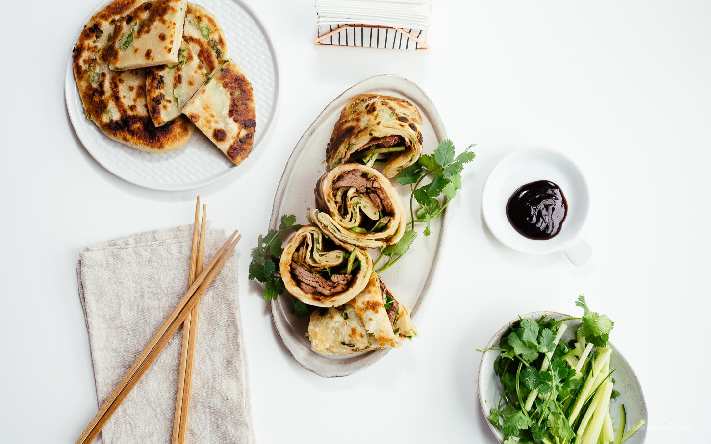 Taiwanese Scallion Beef Roll Recipe | www.iamafoodblog.com