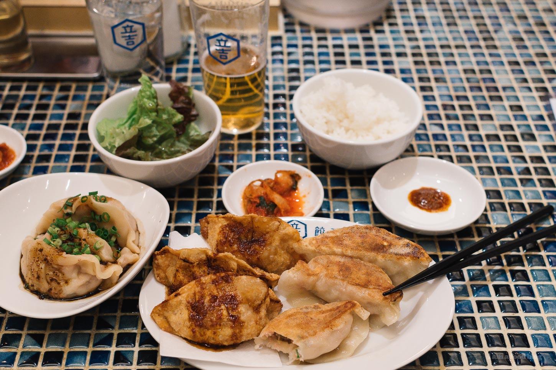 Best Tokyo Gyoza: Kitchen Tachikichi | www.iamafoodblog.com