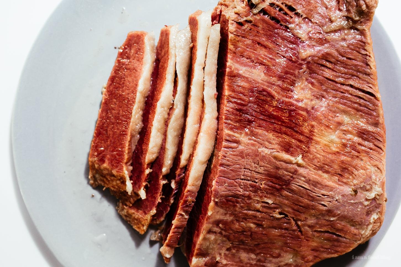 Easy Corned Beef Recipe | www.iamafoodblog.com