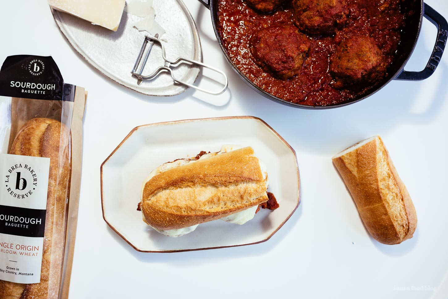 The Best Meatball Sub Recipe | www.iamafoodblog.com