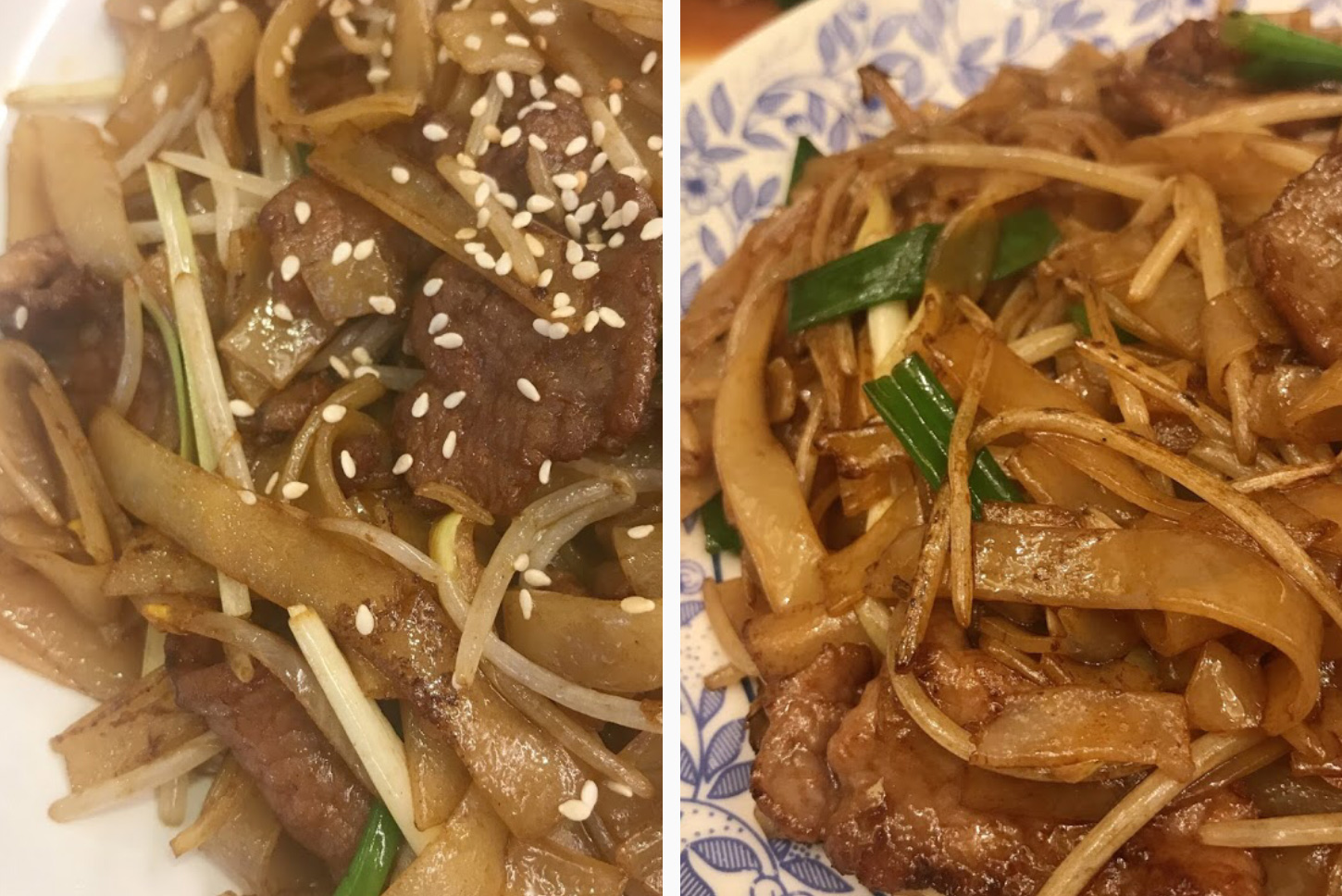 Beef Chow Fun from Hong Kong