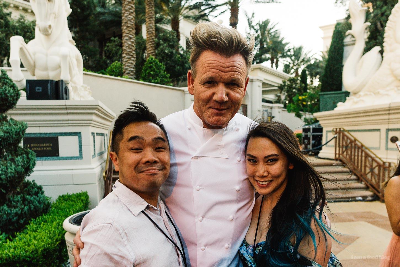 Las Vegas Uncork'd Gordon Ramsay | www.iamafoodblog.com