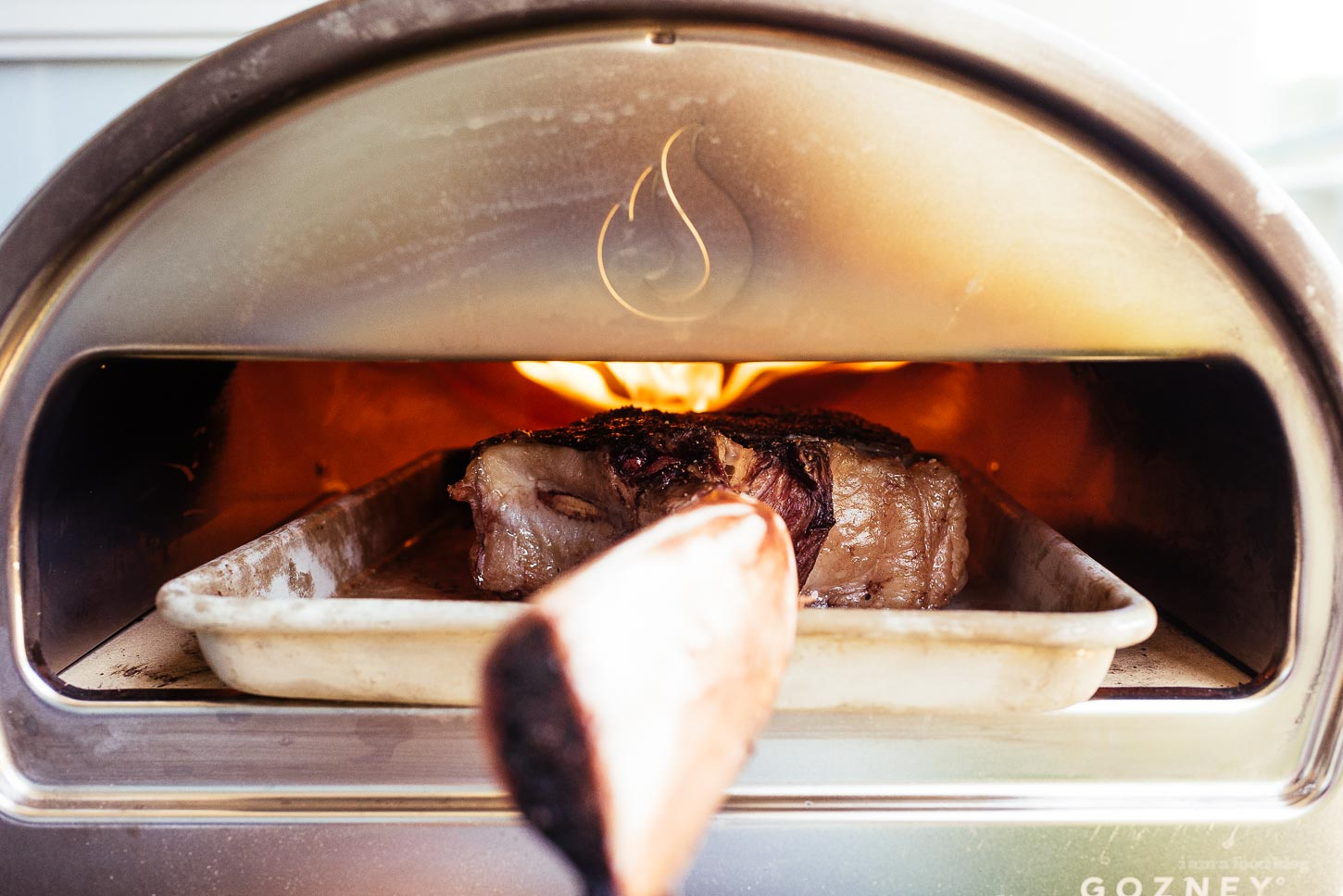 How to reverse sear - the best way to cook a big steak   www.iamafoodblog.com