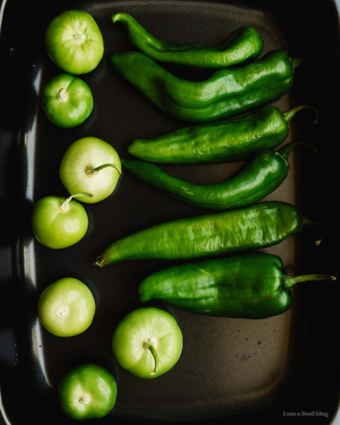 Slow Cooker Green Chili Hatch Chile Verde Recipe   www.iamafoodblog.com
