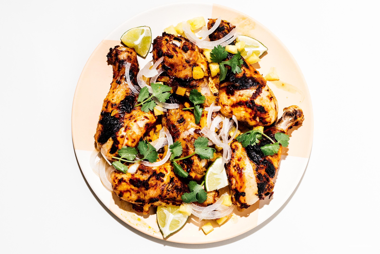 Easy 6 Ingredient Al Pastor Sauce For The Best Oven Baked Chicken Al Pastor Tacos 183 I Am A Food