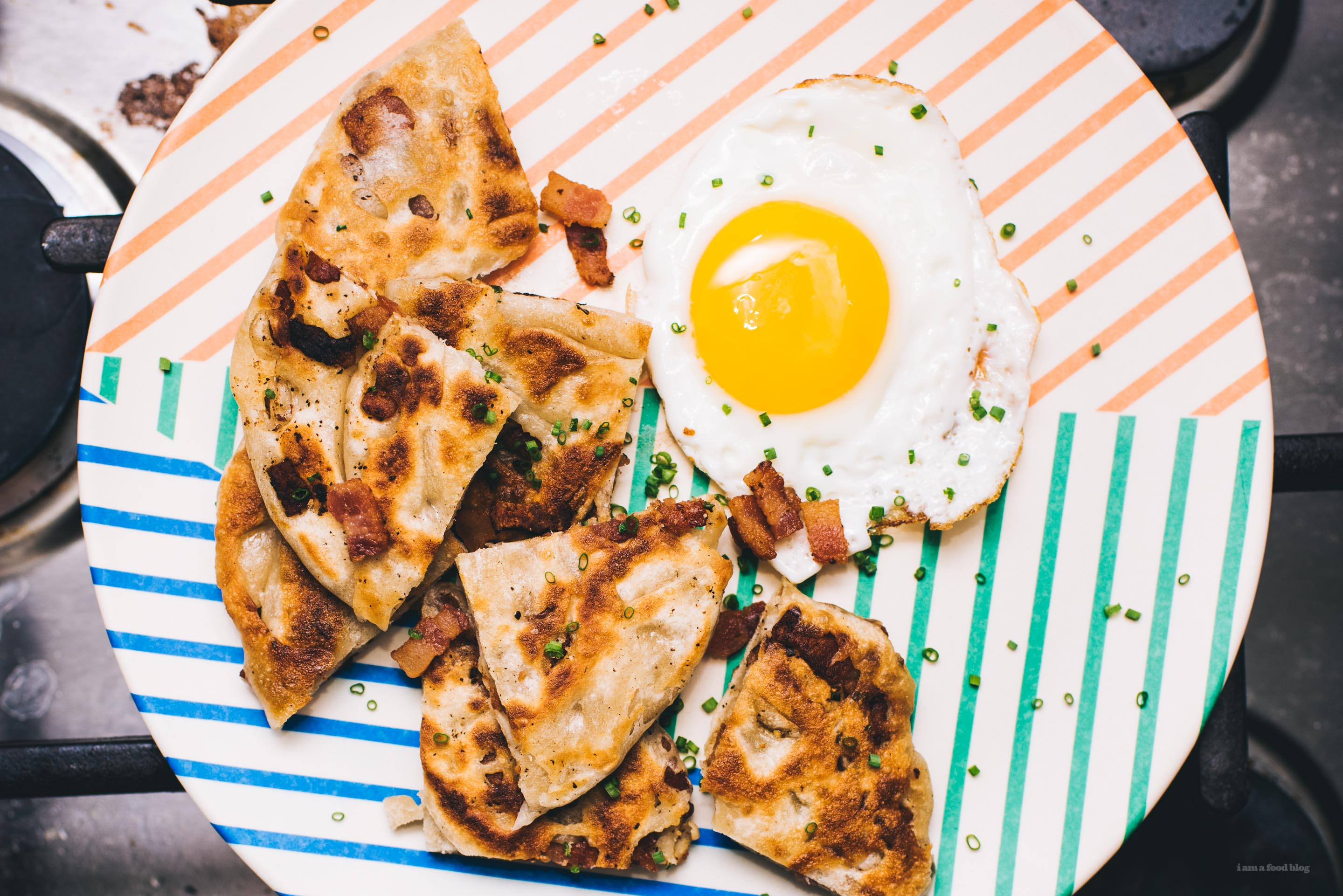 Bacon Bing Bread A Breakfast Y Take On Classic Chinese Pancakes I
