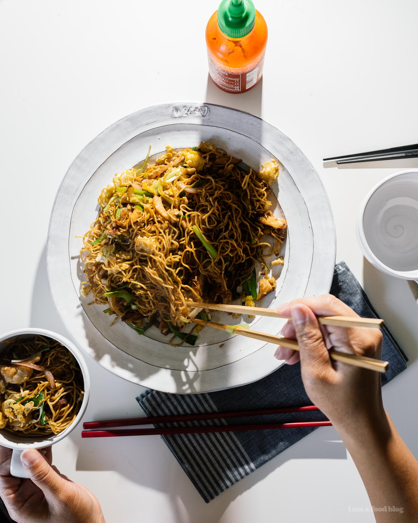 15 Minute Easy Chicken Chow Mein Recipe   www.iamafoodblog.com