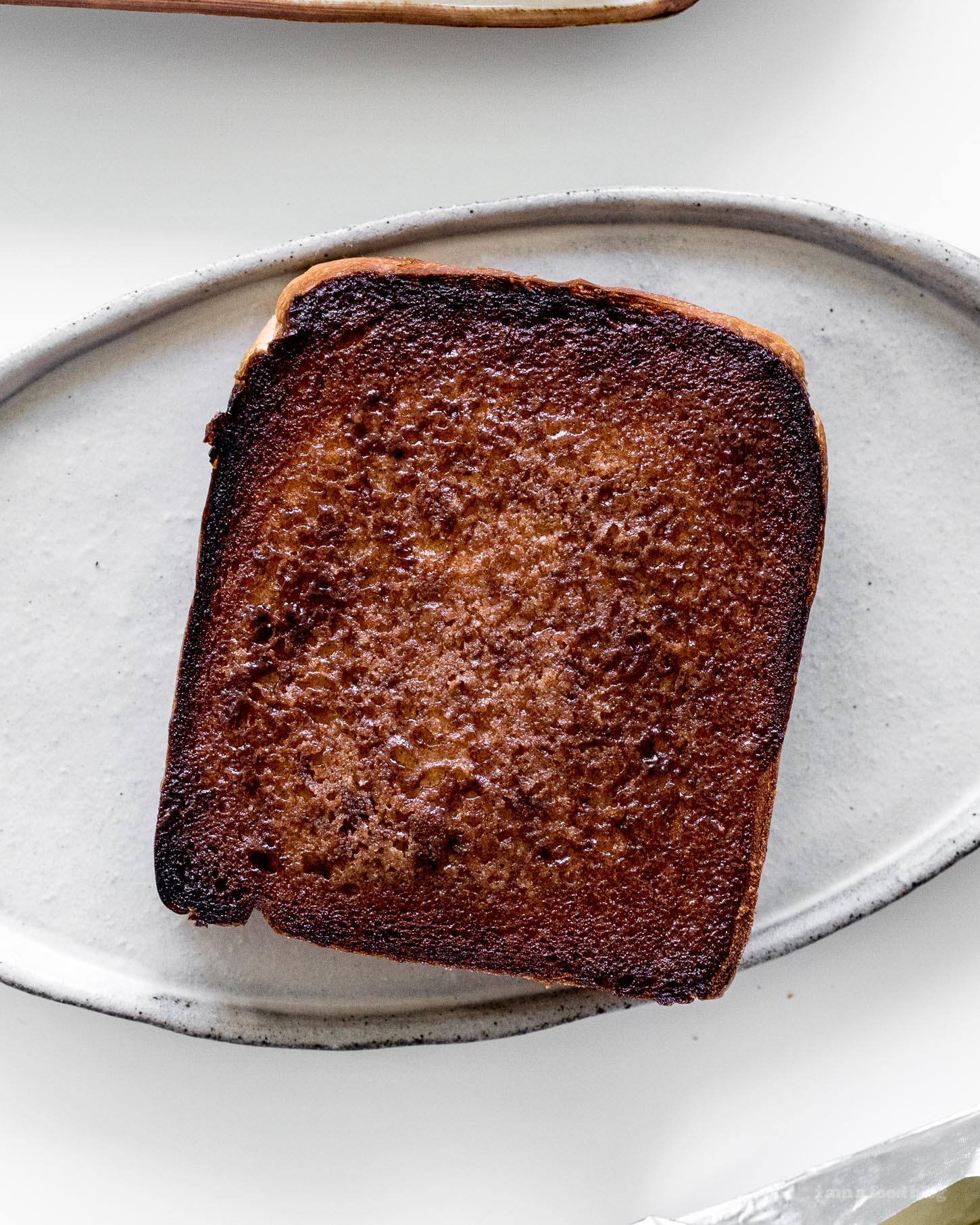 Caramelized Cinnamon Toast Recipe | www.iamafoodblog.com