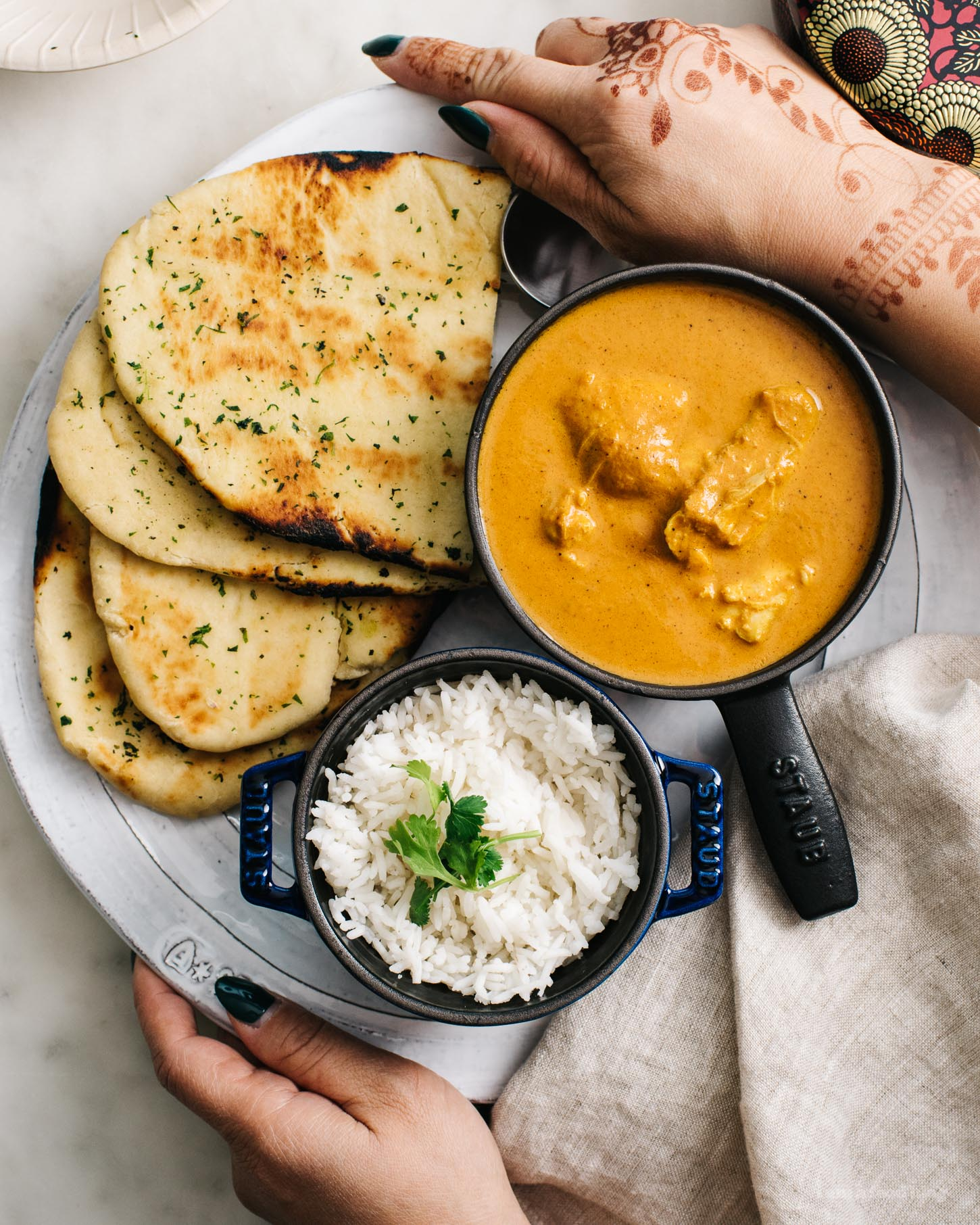 instant pot butter chicken recipe | www.iamafoodblog.com