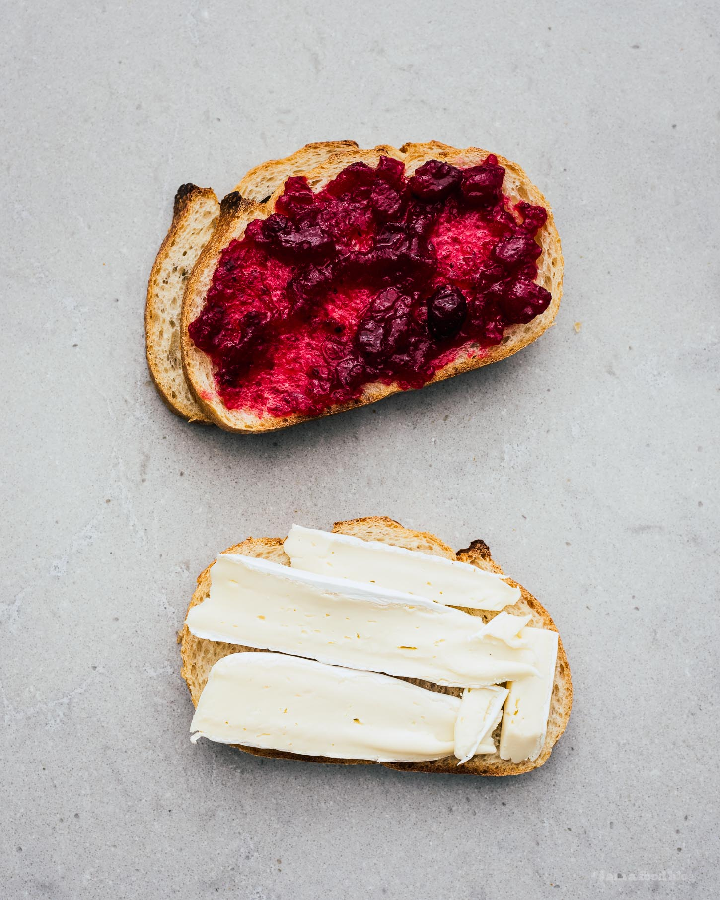 Cranberry and Brie Grilled Cheese | www.iamafoodblog.com