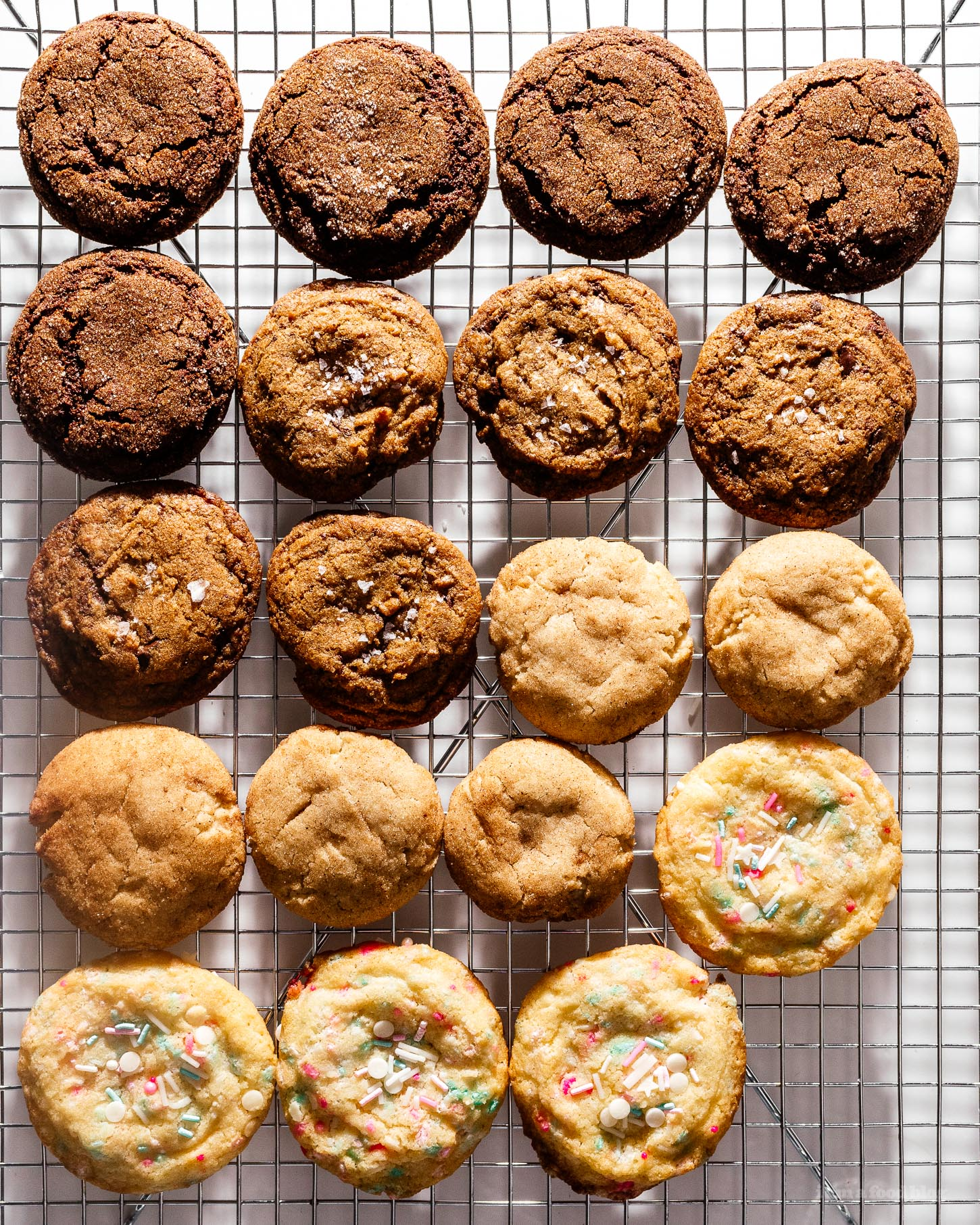 8cbb98a6c82 Small Batch Cookie Baking Tips – Use 1 Egg in 4 Different Cookie ...