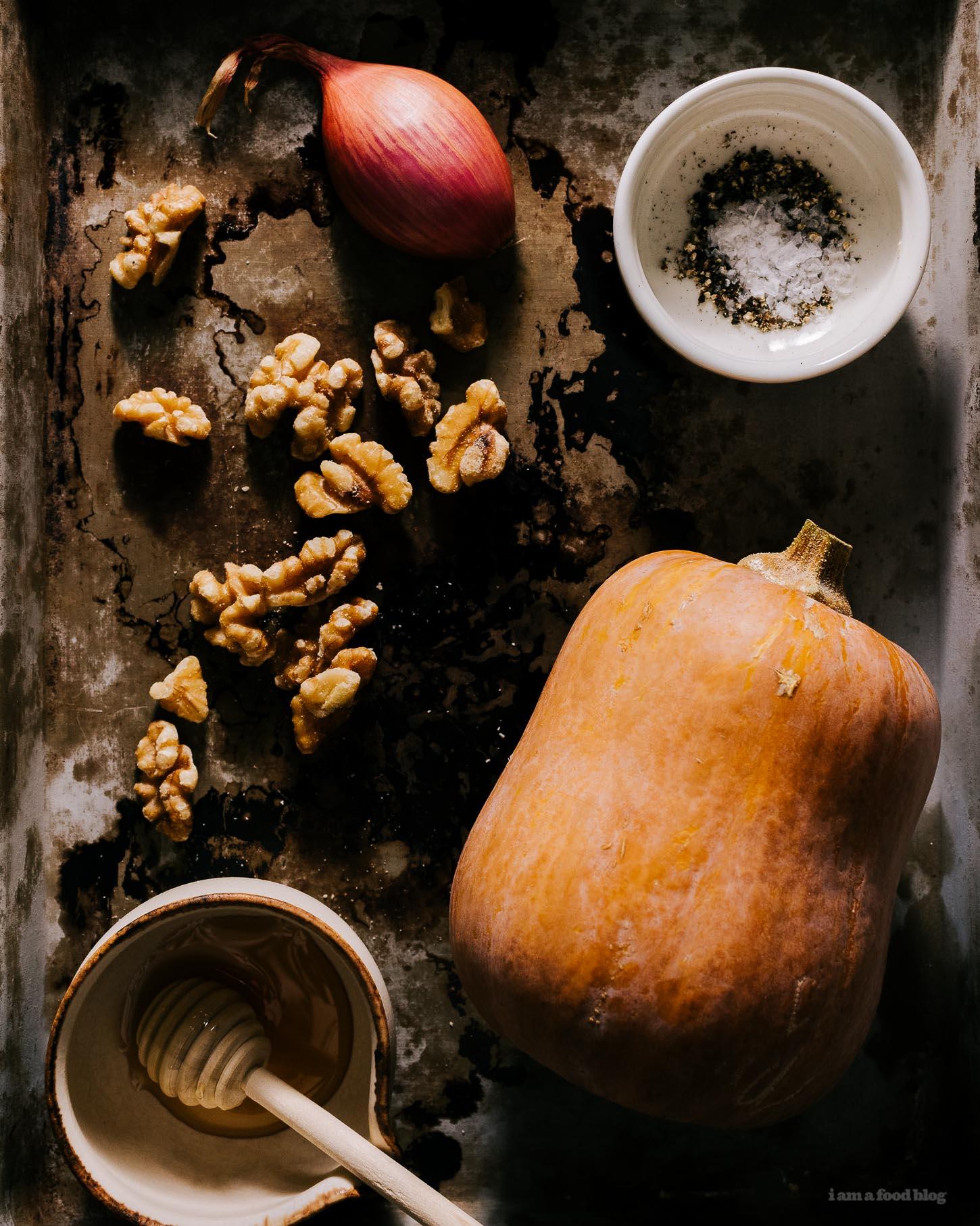 honeynut squash with honeyed walnuts | i am a food blog