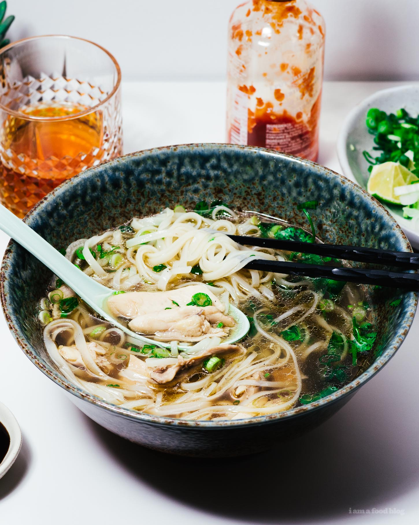 Authentic Instant Pot Chicken Pho Recipe | www.iamafoodblog.com