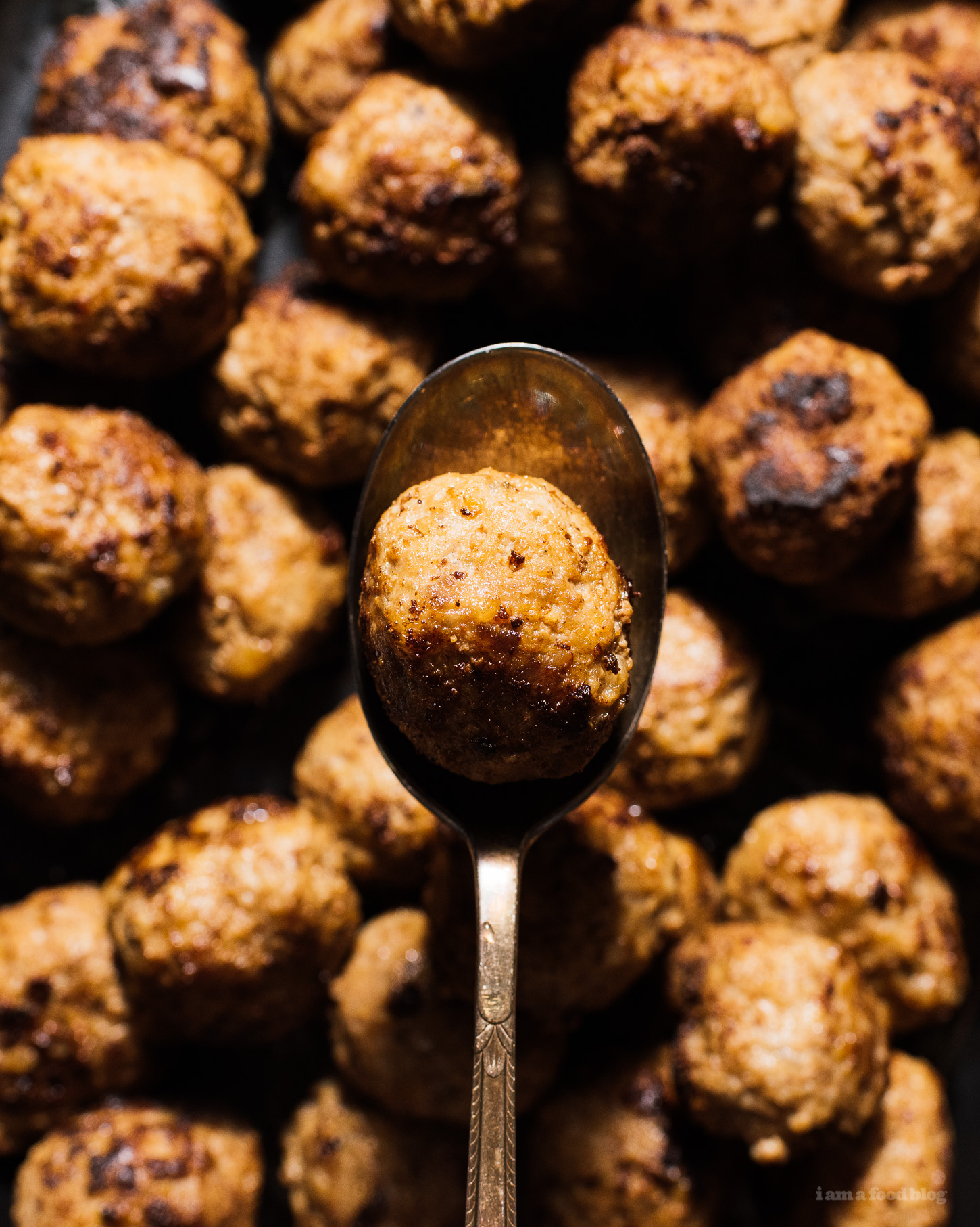 Swedish Meatballs with Cream Sauce | www.iamafoodblog.com