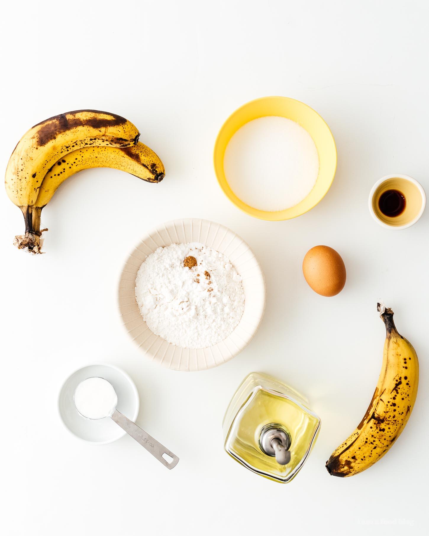 Small Batch Banana Bread Recipe | www.iamafoodblog.com