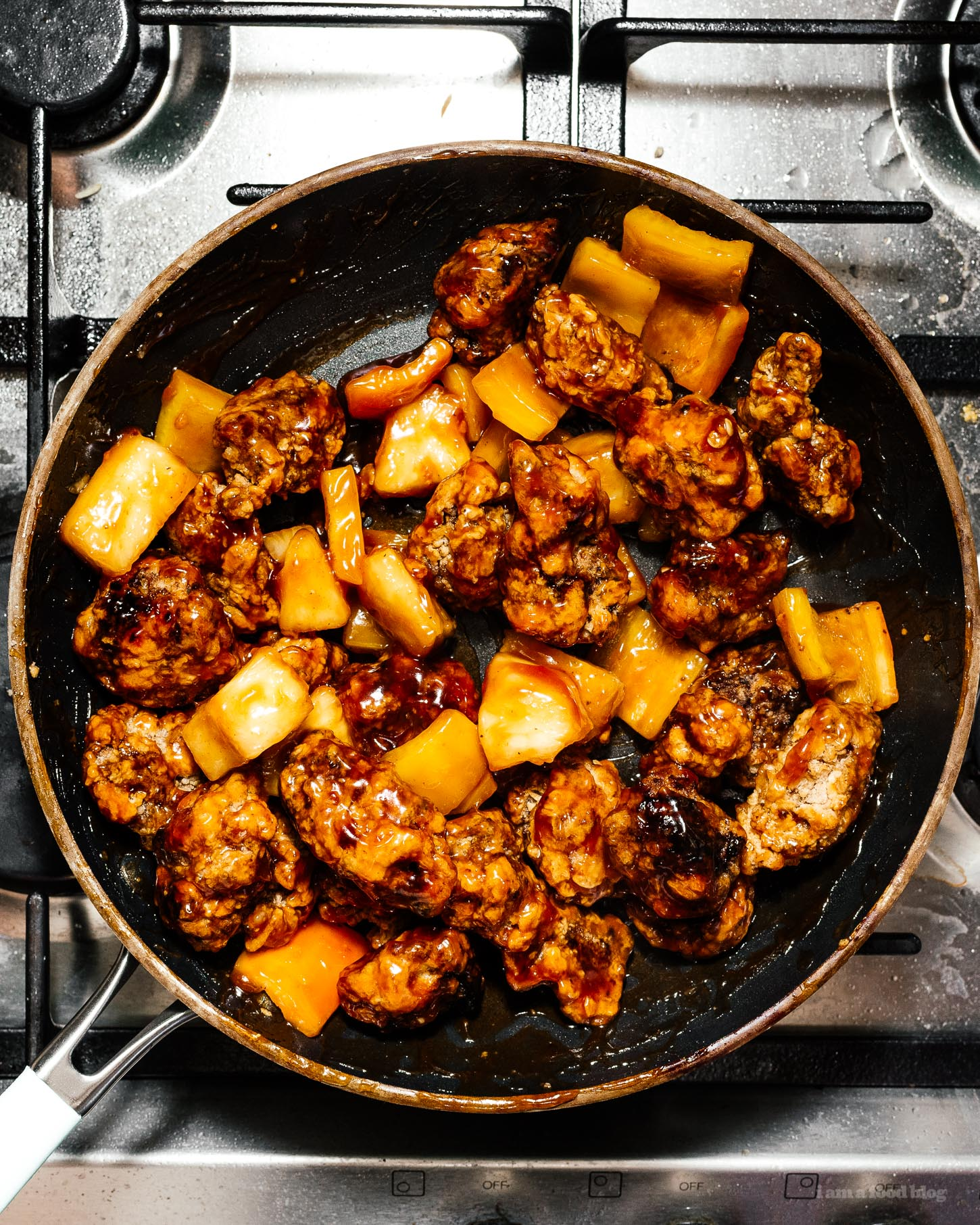 sweet and sour pork recipe | i am a food blog