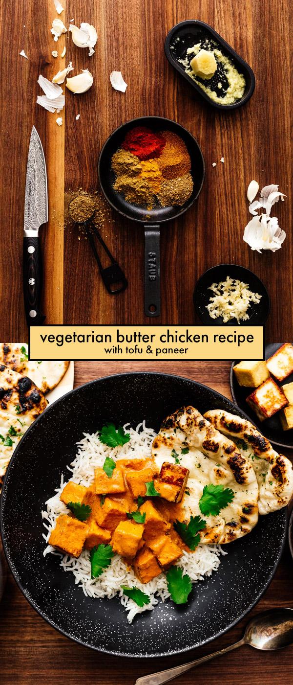 No Chicken Butter Chicken Recipe | www.iamafoodblog.com