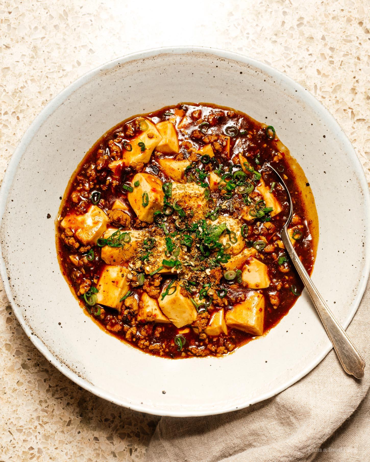 mapo tofu recipe   i am a food blog