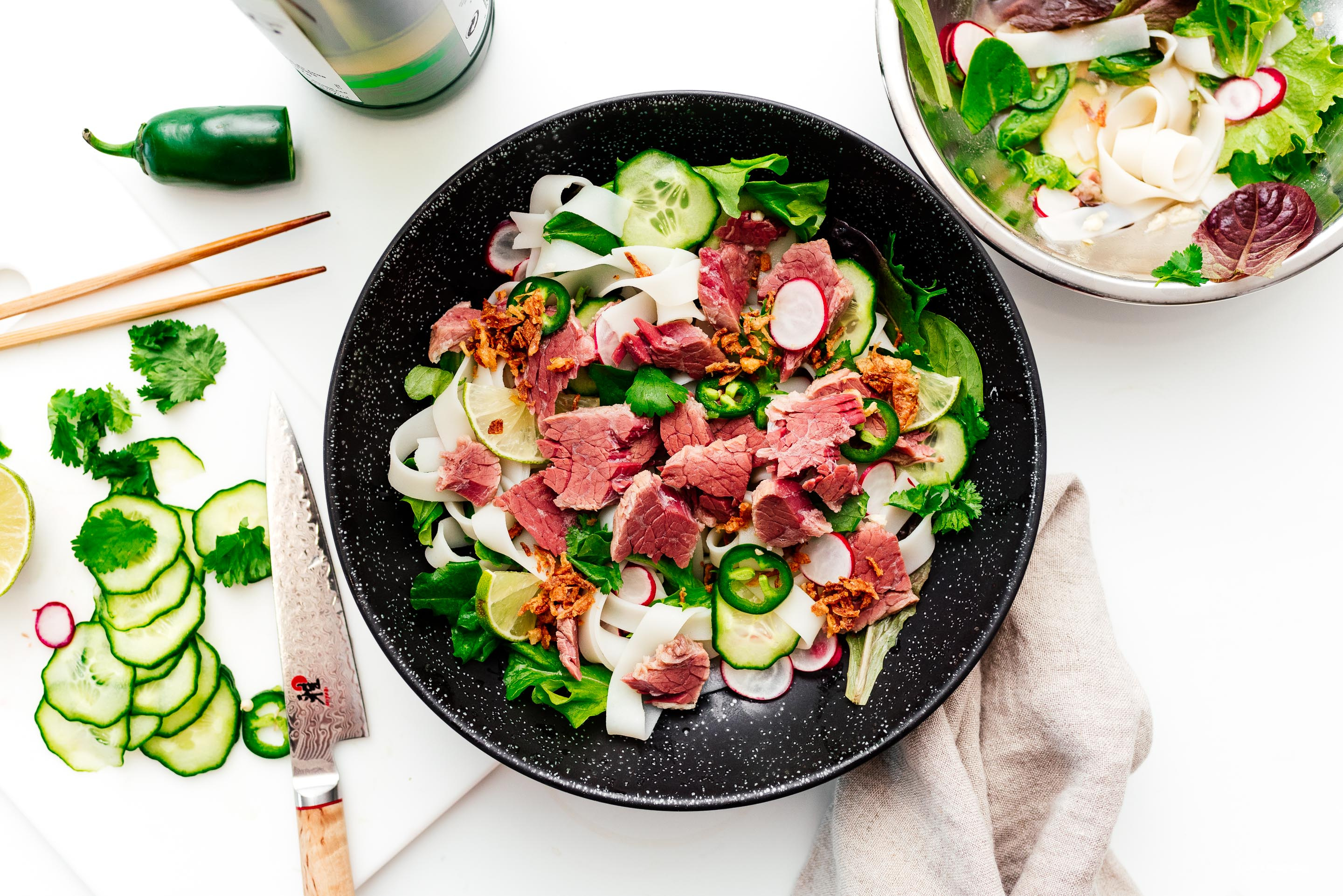 Pho-strami: A Pho-Forward Take on Pastrami