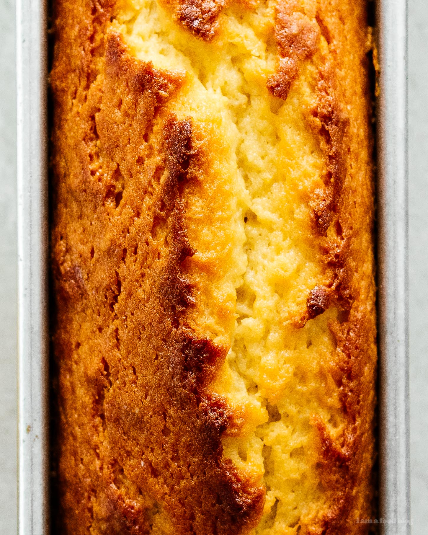 French Yogurt Lemon Loaf Cake | www.iamafoodblog.com