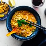 khao soi thai coconut curry noodle soup | i am a food blog