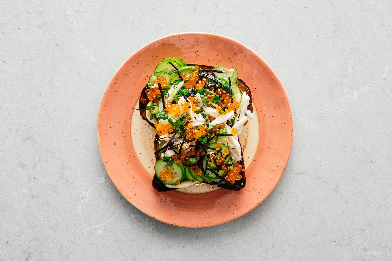 California Roll Avocado Toast