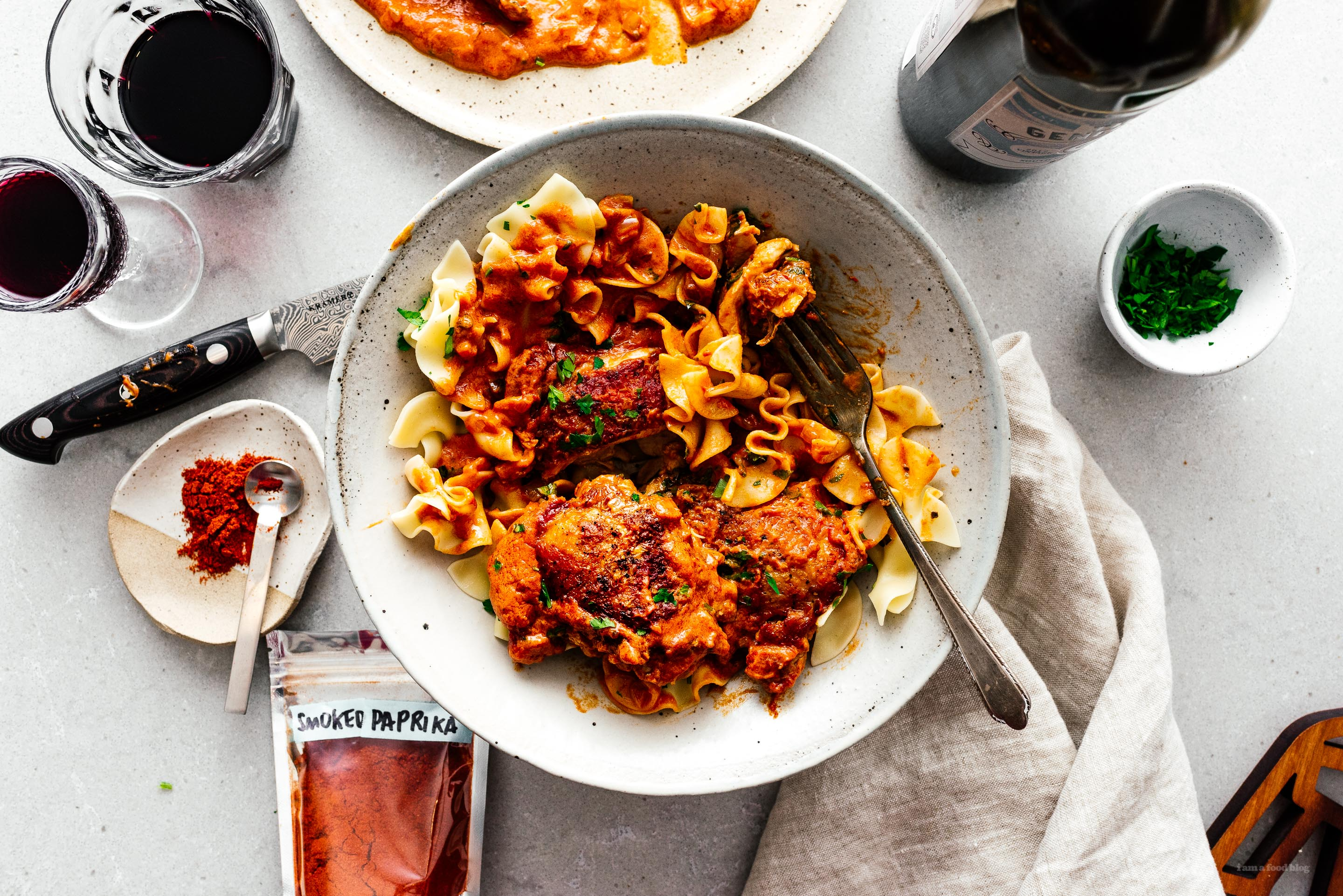 chicken paprikash | i am a food blog