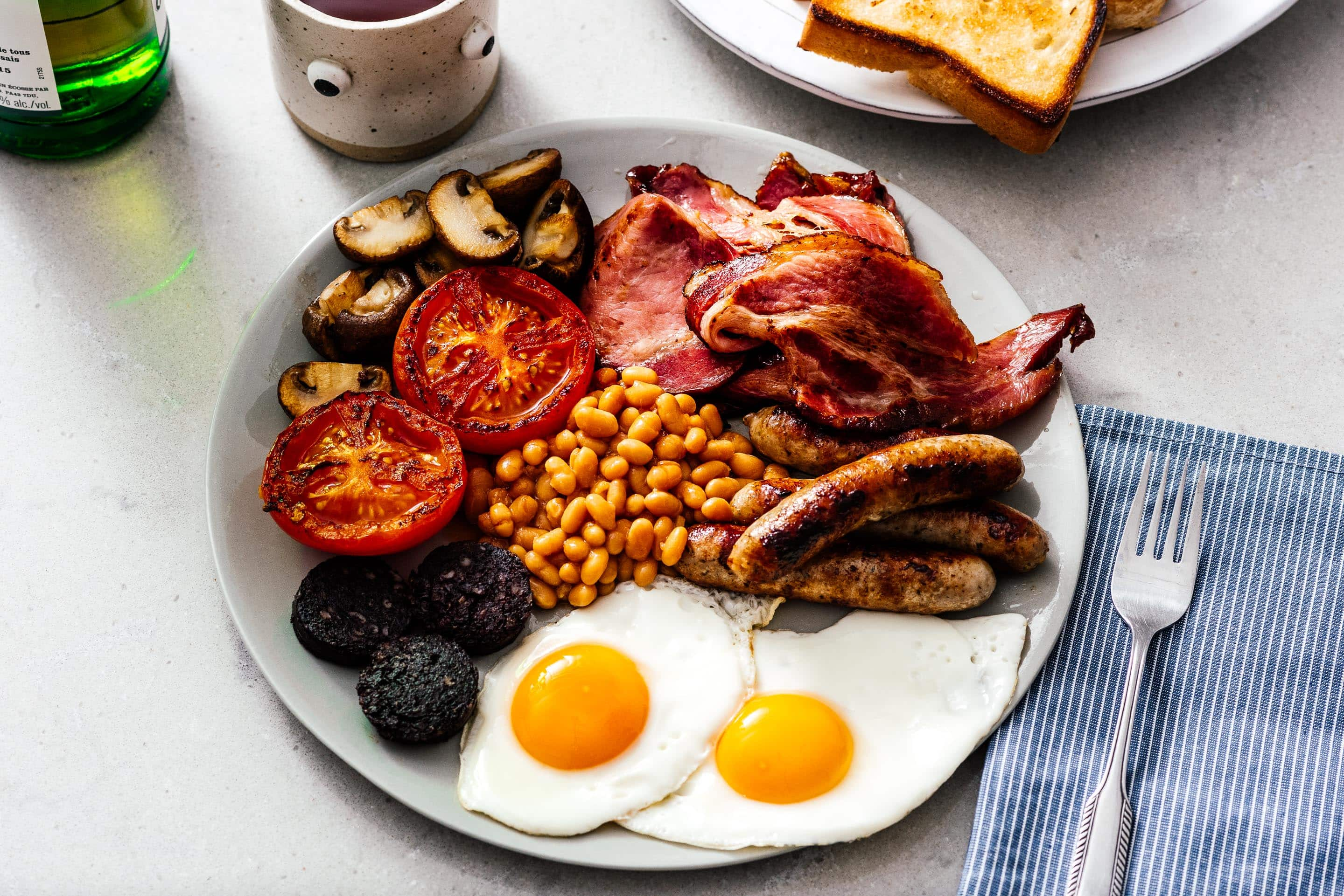 A Breakdown of the Full English Breakfast