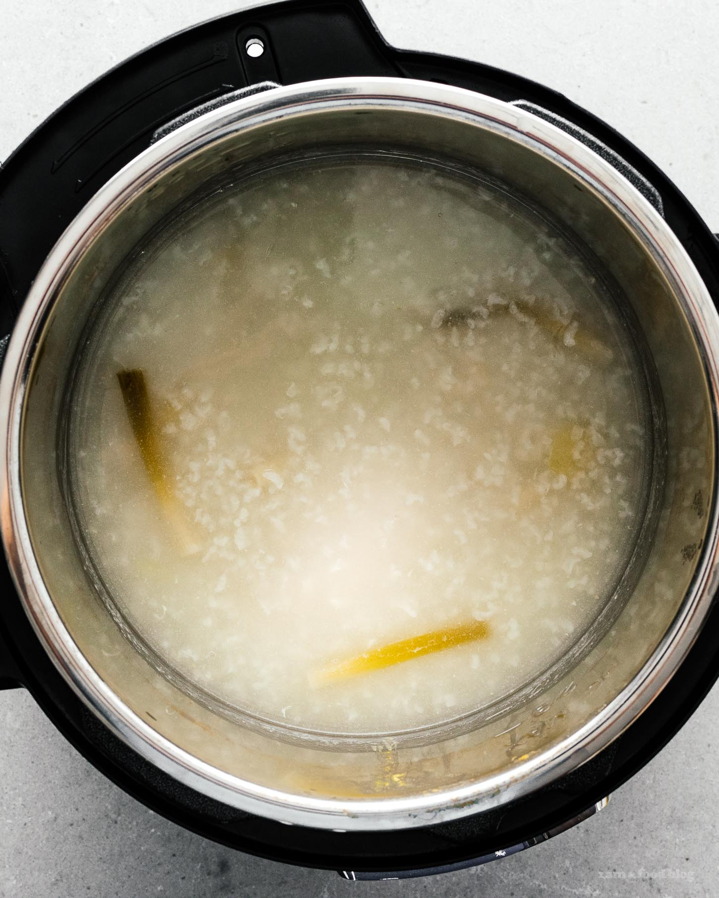 How to Make Instant Pot Chicken Congee | www.iamafoodblog.com