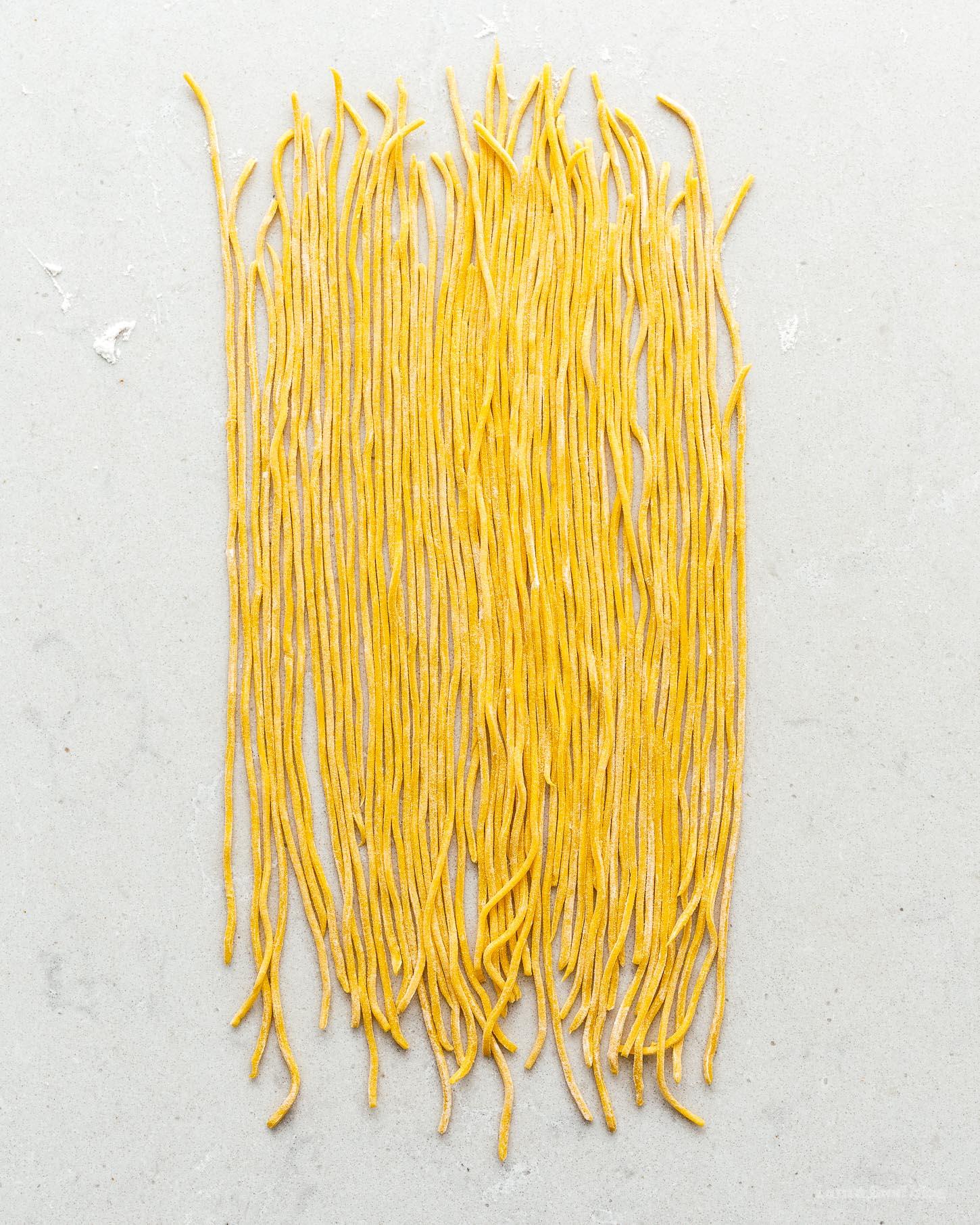 How to Make Spaghetti alla Chitarra | www.iamafoodblog.com