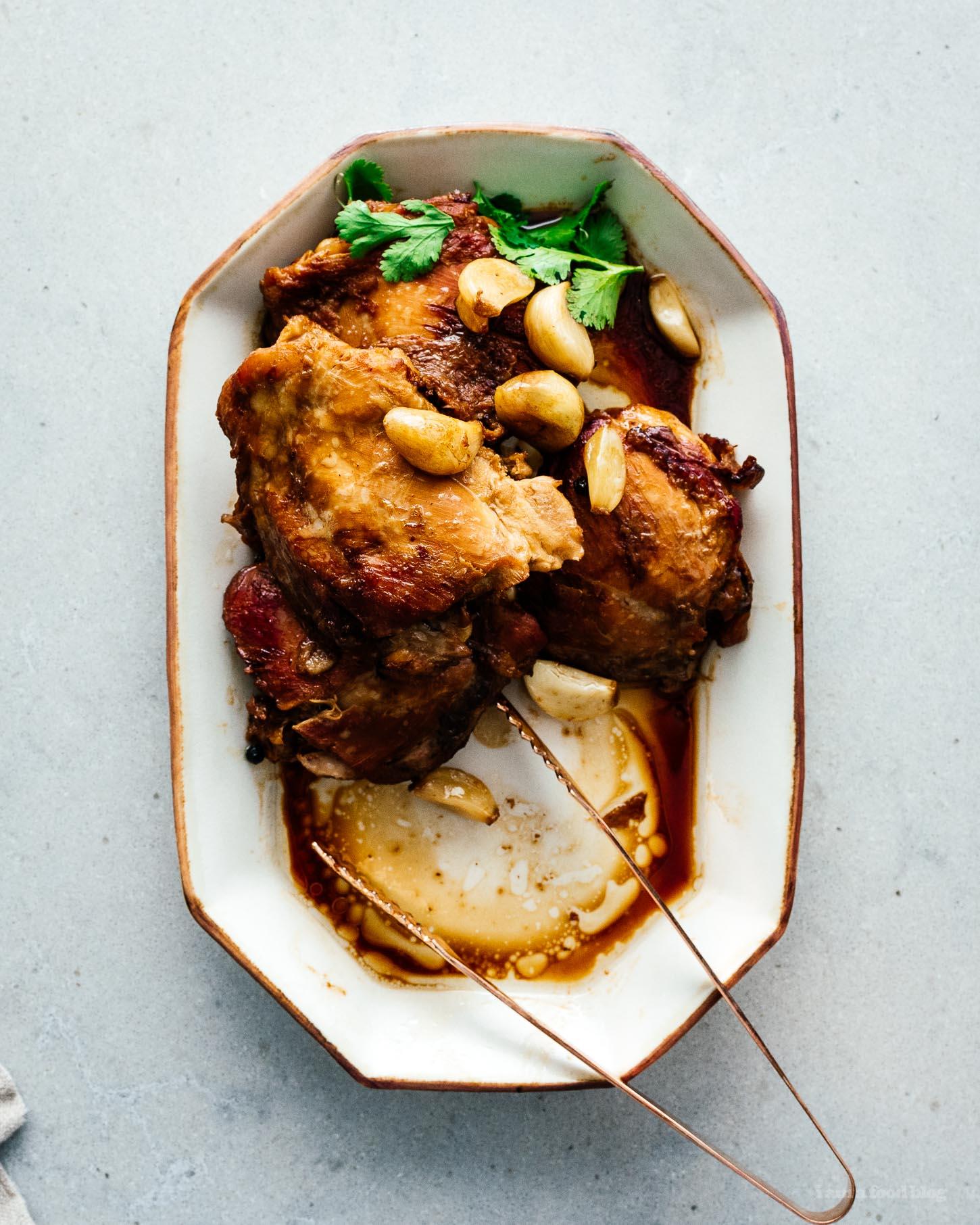Chicken Adobo Recipe | www.iamafoodblog.com