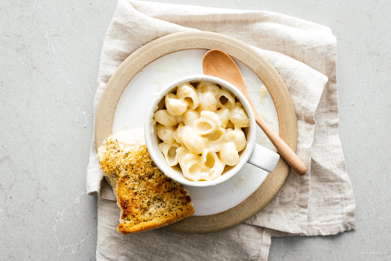 Dorm Room Microwave Mug Mac & Cheese