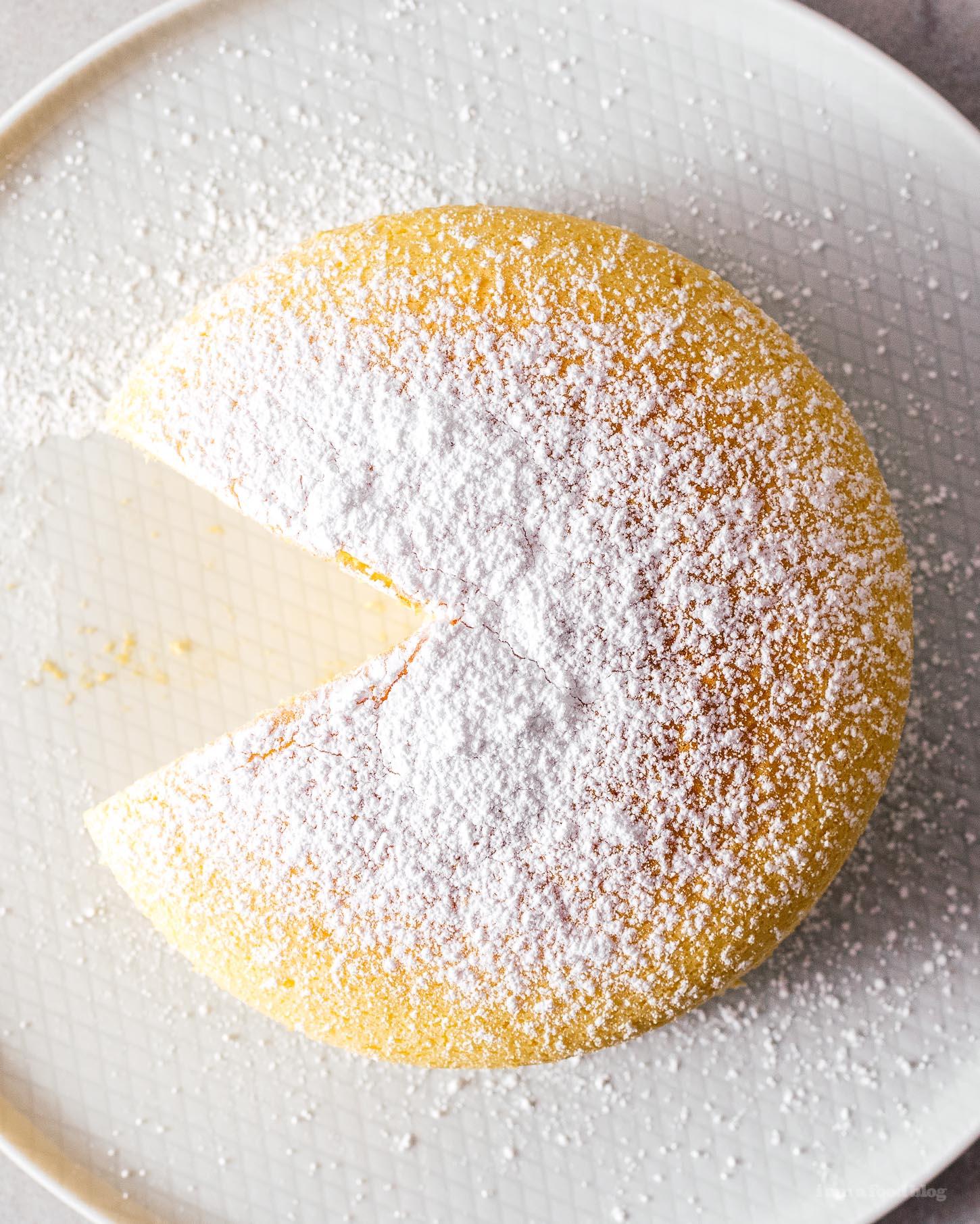 Small Batch Japanese Cheesecake Recipe | www.iamafoodblog.com