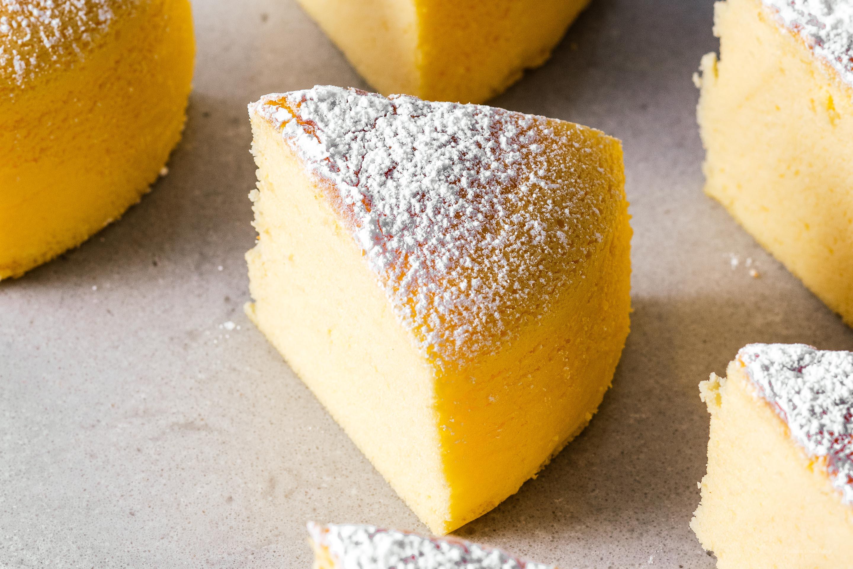 Japanese Cheesecake Recipe: Small Batch Japanese Cheesecake · I Am A Food Blog I Am A