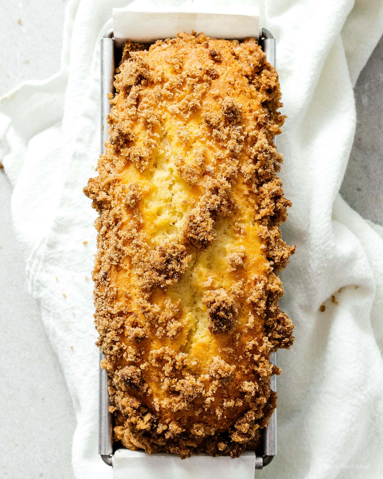 Small Batch Copycat Cinnamon Streusel Starbucks Coffee Cake Recipe | www.iamafoodblog.com