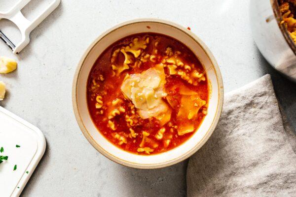 lasagna soup | www.iamafoodblog.com