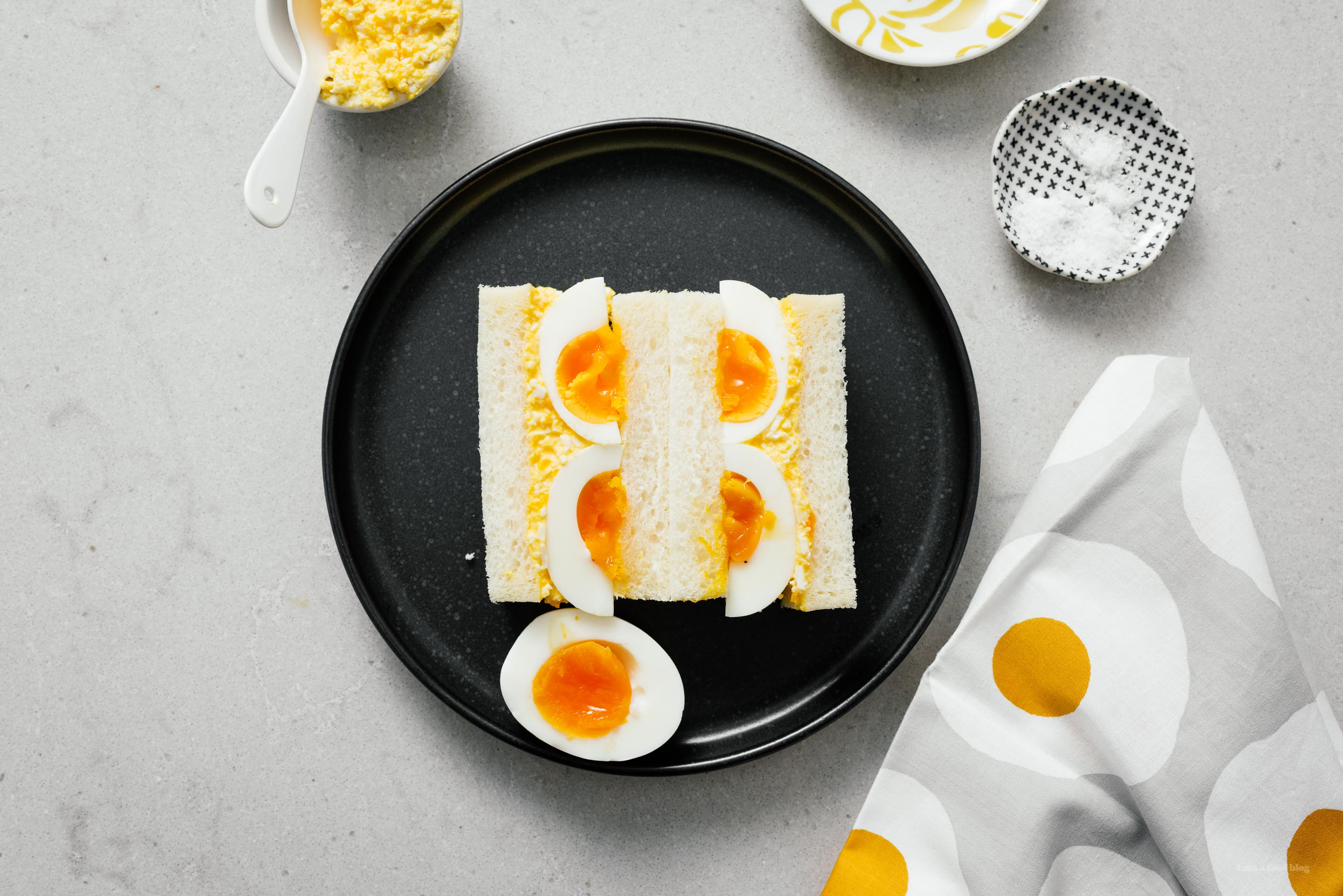 Japanese Egg Salad Sandwich: Tamago Sando Recipe