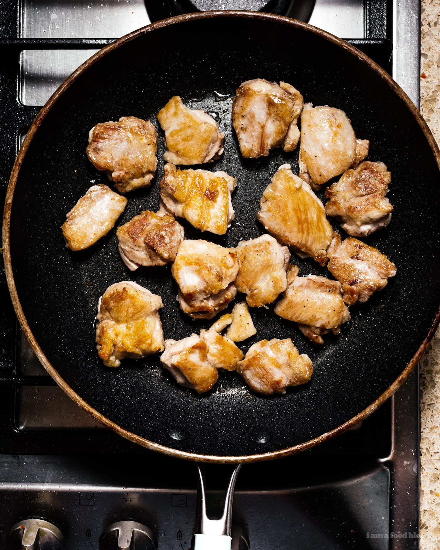 One Pan Sesame Chicken Recipe   www.iamafoodblog.com