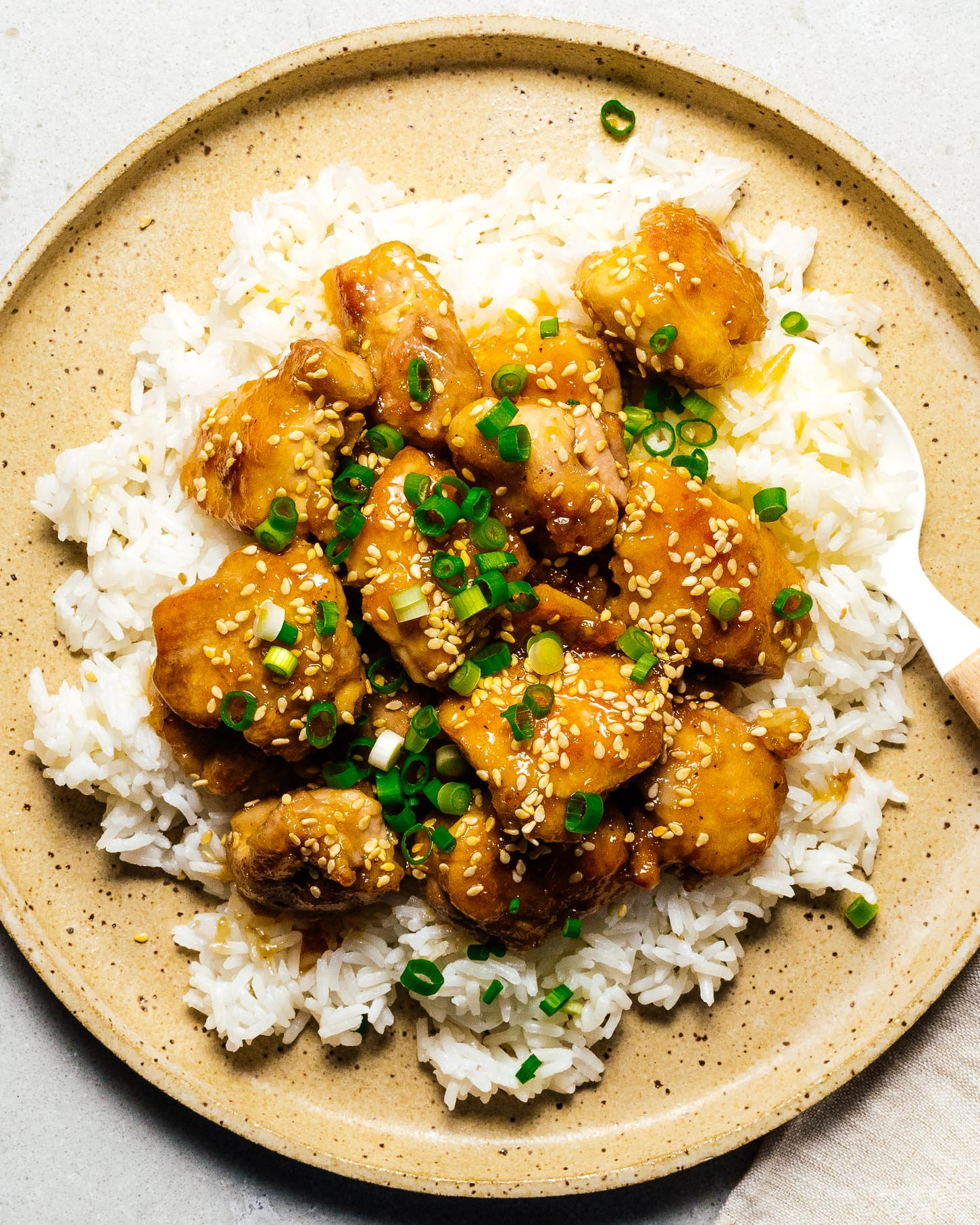 One Pan Sesame Chicken Recipe | www.iamafoodblog.com