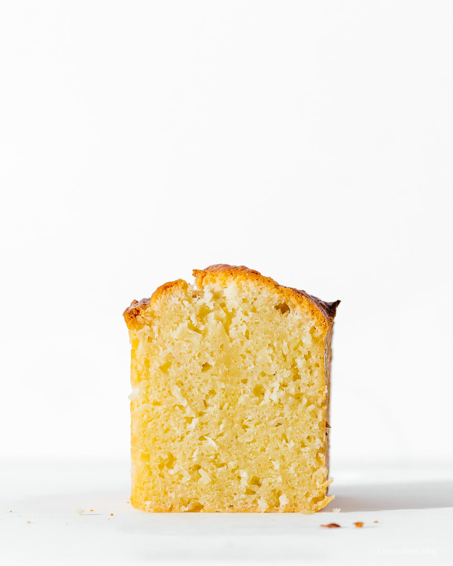 Small Batch Triple Coconut Loaf Recipe | www.iamafoodblog.com