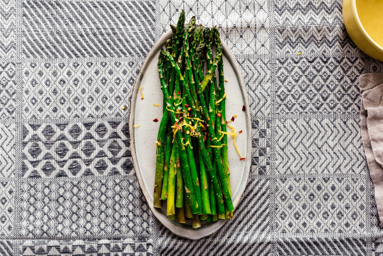 Easy Roasted Air Fryer Asparagus