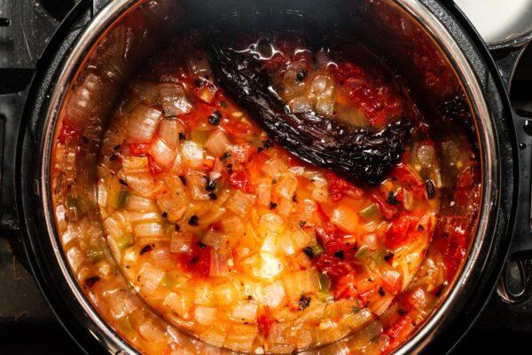 instant pot tortilla soup | www.iamafoodblog.com