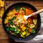 tortilla soup recipe | www.iamafoodblog.com