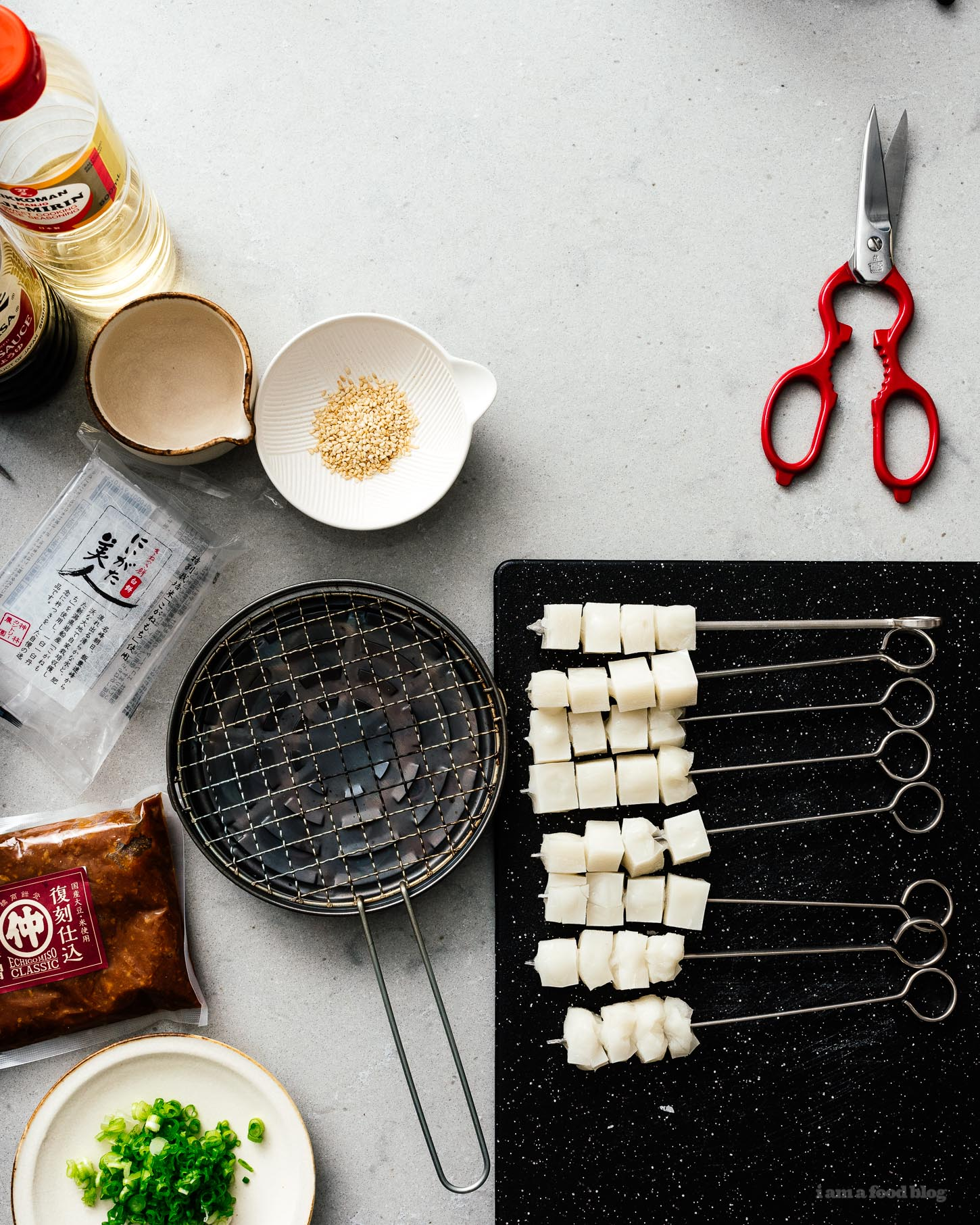 Everything you ever wanted to know about Japanese mochi: what it is, how to eat it, any why you'll want to. Trust me when I say that mochi is the secret ingredient your BBQ needs to be next level. Try this easy yakimochi recipe, you'll never be the same again! #mochi #japanesefood #recipes #japanese