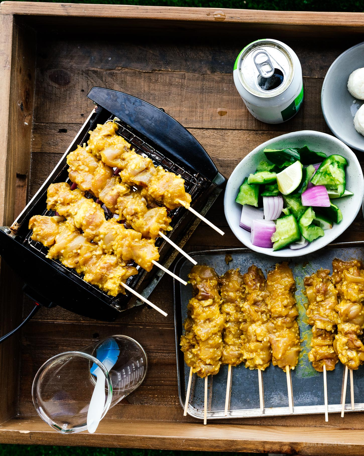 Recipes With Chicken Fingers: Authentic Malaysian Chicken Satay Recipe And A No Peanut