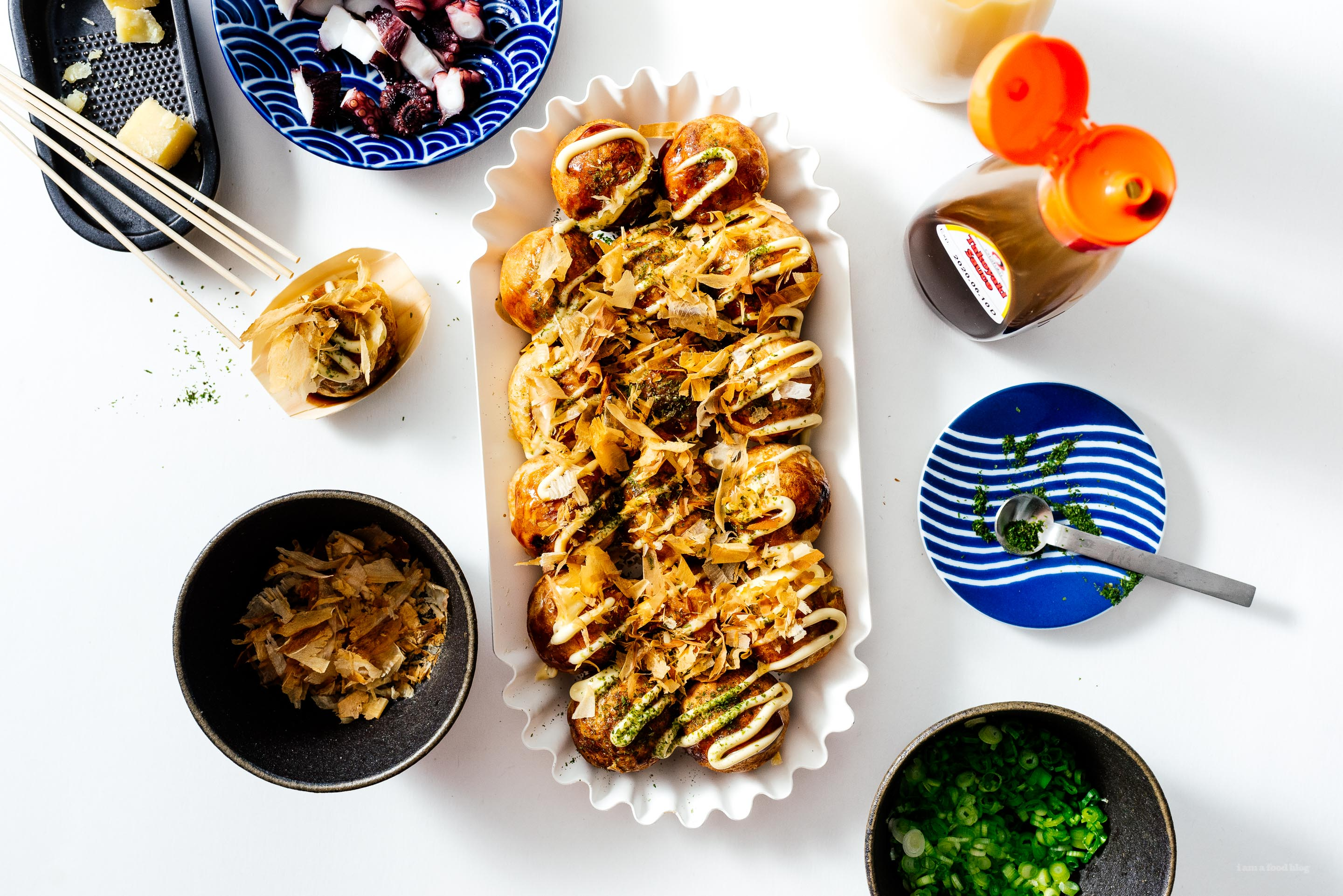 This is the Best Dinner Party Food Ever: an Easy Authentic Takoyaki Recipe to Make with Friends and Family